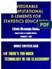 Applied Maths Presentation 2010
