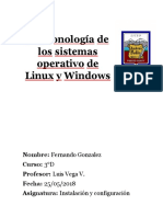 Linux y Windows La Saga F.G