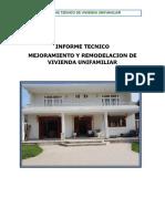 Informe Casa LOS EJIDOS