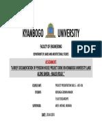 KYAMBOGO PPS WORK