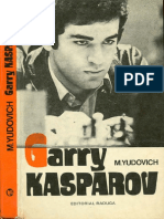 Garry Kasparov - Mijaill Yudovich