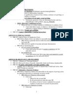 Evidence Attack Sheet