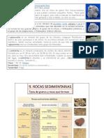Descripción Geologica de Los Sedimentos