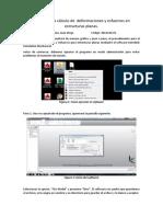 Tutorial Para Cálculo de Deformaciones y Esfuerzos en Estructuras Planas