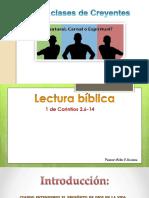 Tres Clases de Creyentes Pastor Aldo