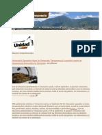 La oposición espera de transparencia democrática en Venezuela