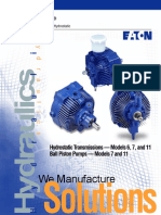 Eaton 11 Hydrostatic Transmission