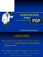 LESIONOLOGÍA - MEDICINA LEGAL