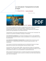 Emulsificacion en Agua Español