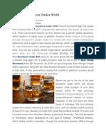 10 Best Bourbons Under 100