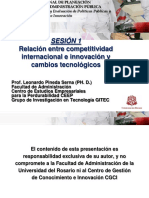 Leonardo Pineda - Relacion entre competitividad internacional e innovacion y cambios tecnologicos.pdf