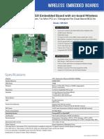 wireless embedded boards