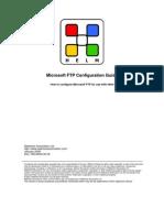 Microsoft FTP Configuration Guide