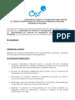 Convocatoria Para Ocupar El Cargo de Supervisor de Puntos de Presencia Mediano p