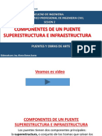 Componentes de Un Puente Superestructura e Infraestructura