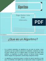 Algoritmo Edgar Quiroz