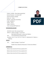 Curriculum Vitae Matias