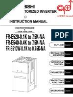 mitsubishi e500 series manual power inverter power supply rh scribd com 2005 Mercedes E500 1994 Mercedes E500
