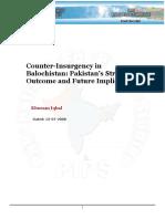 Counter-Insurgency in Balochistan