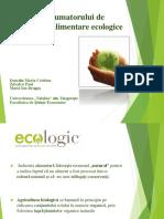 Educaţia Consumatorului de Produse Agroalimentare Ecologice