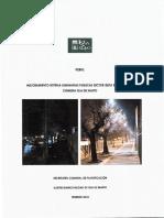 Perfil Mejoramiento Sistema Luminarias