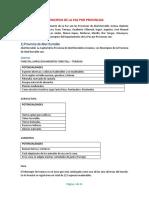 Municipios de La Paz Por Provincias PDF