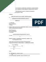 Formulas Para Calculo de Drogas Vasopresoras