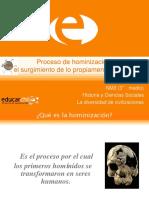 Hominización.ppt