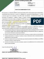Carta de Nombramiento SCTR SALUD - IMSSAC