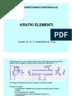 09 Predavanje - Kratki Element