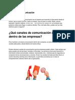 Canales de comunicación - Mauricio Atri Cojab