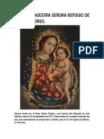 Novena a Nuestra Señora Refugio de Los Pecadores