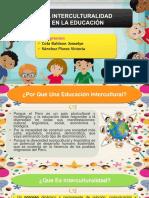 La Interculturalidad en El Sistema Educativo