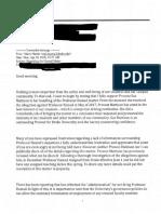 Drake president's email