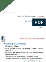 Alvos-Proteinas Transp e Enzimas Aula 4