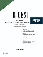 IMSLP373311-PMLP602704-Cesi - Metodo Per Pianoforte Vol 01