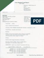 Cerner Imaging Exam Report