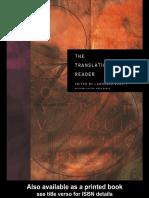 Berman Venuti-The Translation Studies Reader