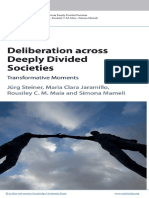 Deliberation Across Deeply Divided Socie