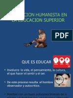Formacion Humanista en La Educacion Superior Magnolo