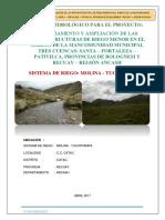 Hidrologia Mancomunidad Canal Molina Tucuppampa