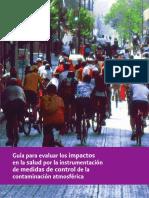 Evaluacion de Impactos en La Salud