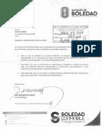 Oficio Alcaldia Retiro de Proyectos