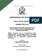 Analisis de La Dfi y Su Incidencia Del Comerio Ext Lunas