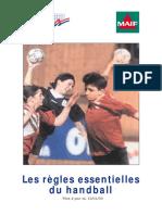 Regles Handball