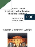 Początki Badań Indologicznych w Lublinie_w PTO2