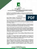 Res 3375 -2017 Se Actualiza La Estructura Del Sistema Integrado de Gestion de La Universidad Del Quindio y Se Dictan Otras Disposiciones