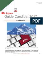 Guide Ecandidat Candidat 2017