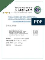 Informe 3 de Fisica General Unmsm