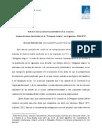 Bohoslavsky - Sobre La Desconcertante Maleabilidad de La Memoria. Interpretaciones Derechistas de La Patagonia Trágica en Argentina 1920-1974
